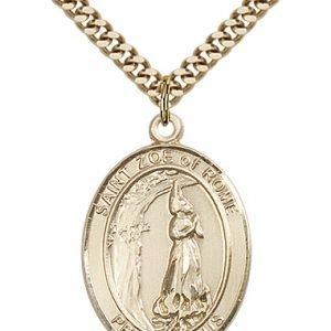 St. Zoe of Rome Medal - 82712 Saint Medal