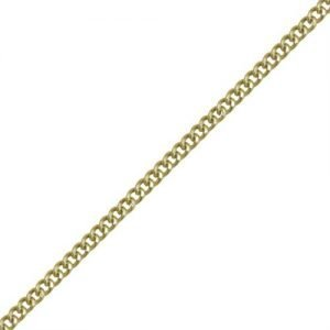 Stainless/Gold Plated Heavy Curb Chain