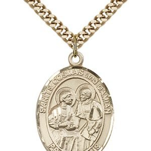 Sts. Cosmas & Damian Medal - 82271 Saint Medal