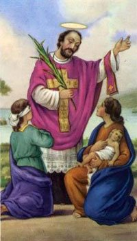 Holy card of St. Valentine