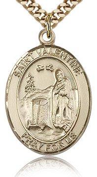 Religious Medal featuring Saint Valentine